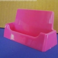Marketing Holders Pink Premium Acrylic Business Card Holder
