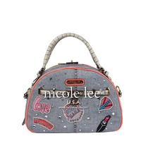 ATHENA PATCH PRINT BOWLER BAG - NEW ARRIVALS