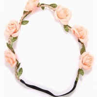 ROSE BUD WINE HEADWRAP - JUST ARRIVED