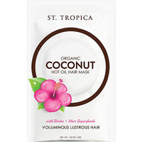 Organic Coconut Hot Oil Hair Mask with Biotin + Superfoods