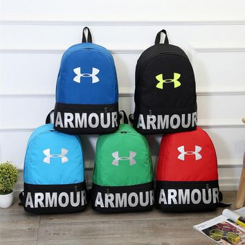 Under Armour Fashion Letter Print Sport Shoulder Bag Travel Bag School Backpack