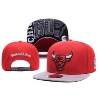 Chicago Bulls Women Men Embroidery Sports Hip Hop Cap Baseball Cap Hat