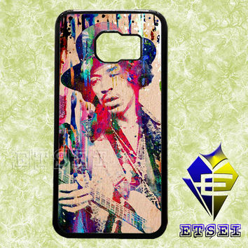 Jimi Hendrix 7887 case For Samsung Galaxy S3/S4/S5/S6 Regular/S6 Edge and Samsung Note 3/Note 4 case