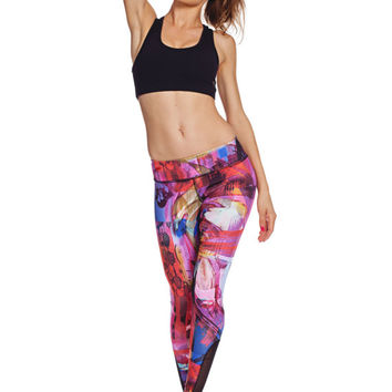 4216b0c5f8c07 FEATURED SALE - Printed Heart Yoga Leggings - Heart Butt™ Yoga Pant -  Compression Clot. $92.00 from Nina.B.Roze
