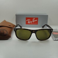 AUTHENTIC RAY-BAN SUNGLASSES RB4226 710/73 TORTOISE FRAME/BROWN LENS 56MM