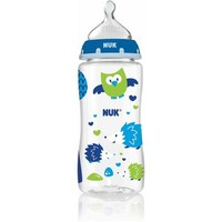 NUK Woodlands Orthodontic Bottle, 10 Ounce, 3-Pack, Med Flow, Silicone, Boy - Walmart.com