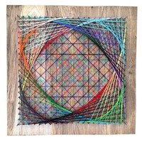 Pre-owned Geometric String Art