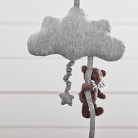 Gray Cloud Pull Music Mobile | Pottery Barn Kids