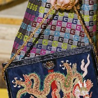 Gucci Ophidia embroidered medium shoulder bag