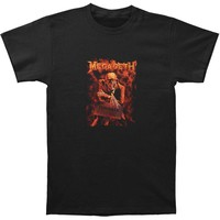 Megadeth Men's  Peace Sells T-shirt Black Rockabilia