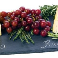 Slate Cheese Board And Chalk Set by True