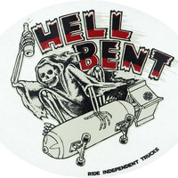 Independent Hell Bent Decal 4 inch x5 inch