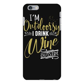 wine outside iPhone 6 Plus/6s Plus Case