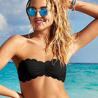 Scalloped Bandeau Top - PINK - Victoria's Secret