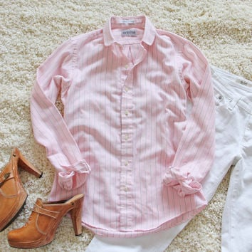 Vintage Sweet Button-up Top