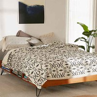 Holli Zollinger For DENY Geo Mudcloth Duvet Cover