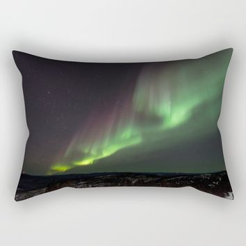Aurora VII Rectangular Pillow by Gallery One