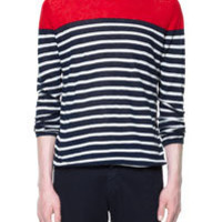STRIPED LINEN SWEATER - Knitwear - Man - ZARA United States