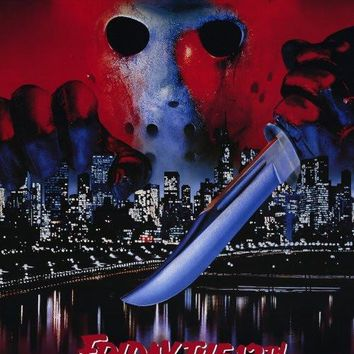 Friday the 13th Part 8 Jason Takes Manhattan 27x40 Movie Poster (1989)