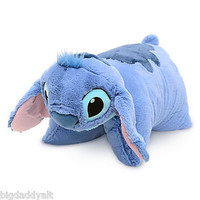 NEW Disney World Parks Stitch Pillow Pet Pal Plush