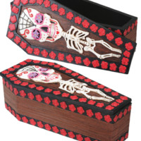 Day Of The Dead - Coffin Box