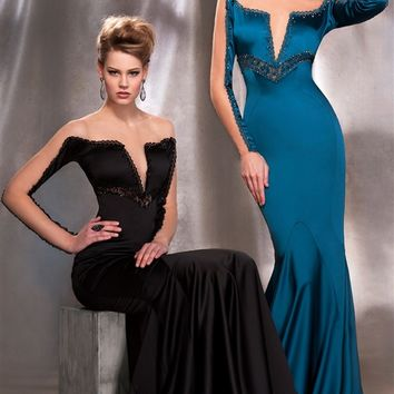 MNM Couture 2118 Fouad Sarkis Gown   Prom Dresses   Pageant Dresses   Military Ball Gowns   GownGarden.com