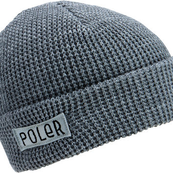 Poler Workerman Beanie - Charcoal