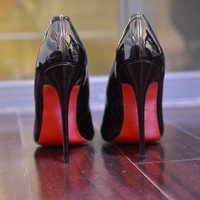 Pumps Spike Red Bottom Shoes