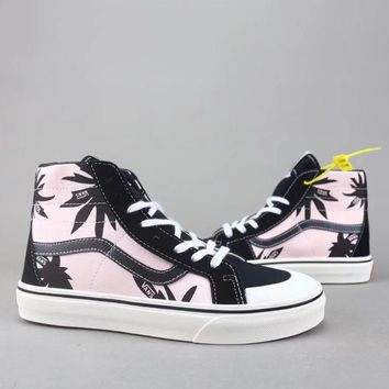 Vans Sk8 Hi Reissue Women Men Fashion High-Top Old Skool Shoes