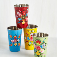 Sip, Hip, Hooray Glass Set