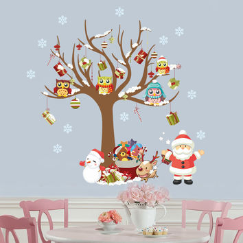 Christmas Decorations Wall decal