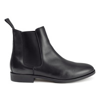 H&M - Leather Chelsea Boots