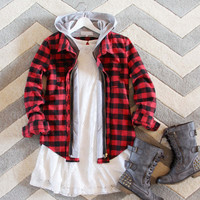 The Seattle Plaid Hoodie
