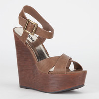 Soda Lofty Womens Shoes Brown  In Sizes