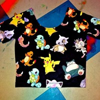 SWEET LORD O'MIGHTY! Pokemon Crop Top