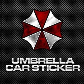 Noizzy Resident Evil Umbrella Corporation Logo Car Auto Sticker Decal Quality Vinyl Reflective Motorcycle Automobile Car Styling