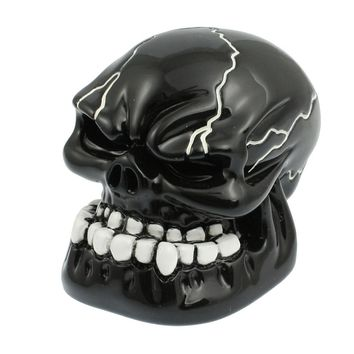 Carved Skull Car Gear Stick Shift Knob Handbrake Grips