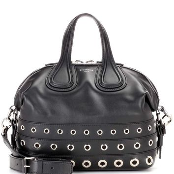 Nightingale Small embellished leather tote