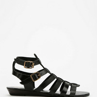 Ecote Double-Buckle Caged Sandal