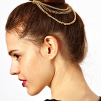 ASOS | ASOS Chain Bun Hair Combs at ASOS