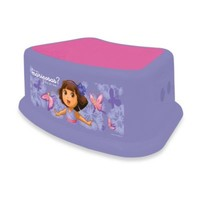 Ginsey Dora the Explorer Step Stool in Purple