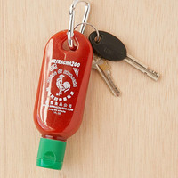 Sriracha To-Go Bottle Keychain - Urban Outfitters