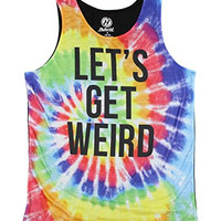 Let's Get Weird Graphic Tank Top