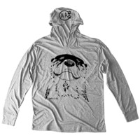 Jackie Woods Collection - River Otter Unisex Hoodie