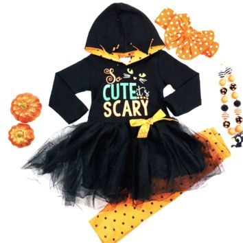 RTS So Cute It's Scary Hoodie Set D82