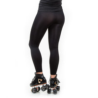 Basic Black Leggings, RollerGirl.ca - your friendly derby owned roller skate shop