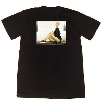 Eyes on My Kicks Clothing Amber Bred 11 Low Tee