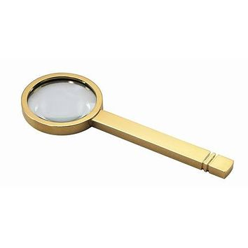 Free Engraved Personalized Gold Magnifying Glass