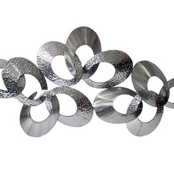Looped Metal Wall Decor Large