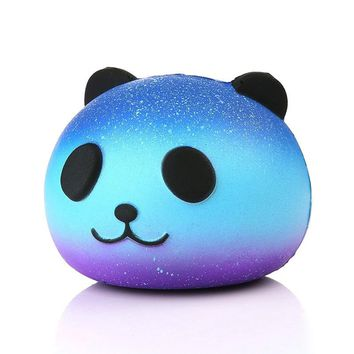 ping Cute Blue Panda Cream Scented Squishy Slow Rising Squeeze Kid Toy Phone Charm Gift